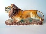 Lion, Porcelain Figurine