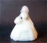 Boyd Art Glass Elizabeth Doll Figurine, Spring Beauty