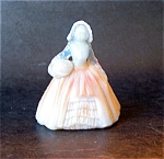 Boyd Art Glass Elizabeth Doll Figurine, Slag