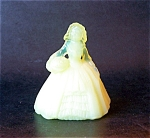 Boyd Art Glass Elizabeth Doll Figurine, Sunglow