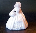 Boyd Art Glass Elizabeth Doll Figurine, Pale Orchid