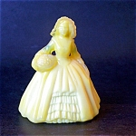 Boyd Art Glass Elizabeth Doll Figurine, Banana Cream