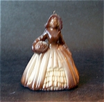 Boyd Art Glass Elizabeth Doll Figurine, Buckeye