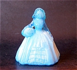 Boyd Art Glass Elizabeth Doll Figurine, Alpine Blue