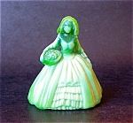 Boyd Art Glass Elizabeth Doll Figurine, Nile Green