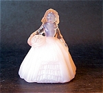 Boyd Art Glass Elizabeth Doll Figurine, Pink, Opaque,