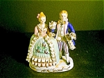 Colonial Couple ,porcelain