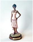 Laverona Collection Black Lady Figurine