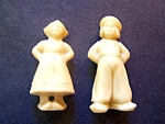 Celluloid Dutch Boy & Girl Figurine