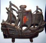 Cast Iron Ship Doorstop