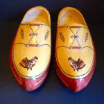 Pr. Wooden Shoes, Horse Decor.