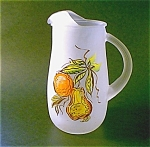 Satin Finish Juice Pitcher