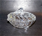 Shell Shape Covered Crystal Dish