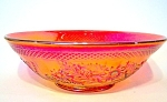 Marigold Carnival Glass Bowl, Centerpiece