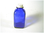 Cobalt Blue Bottle/cap