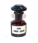 Dark Red Amber Bottle, Chemistry