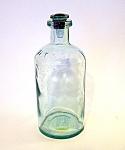 Blue/green Glass Bottle, Pharmacy?
