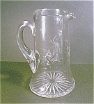 Crystal Pitcher,cut Pattern