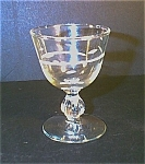 Cut Crystal Cordial Glasses