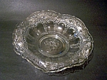 Clear Glass Bowl, Pressed Pattern