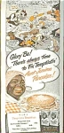 Aunt Jemima Ad For Pancakes Ad Sheet