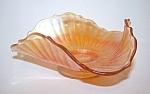 Marigold Bonbon Triangular Dish, Bowl, Stippled Ray Ptn