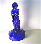 Cobalt Figurine,lamp Base