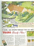 1946 Vigoro Plant Food - Swift & Co Ad Sheet