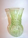 Depression Green Glass Vase
