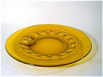 Indiana Kings Crown Amber Snack Plate