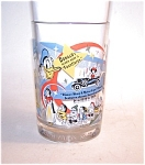Donald Duck Mcdonalds Glass Tumbler