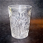 Crystal Pressed Pattern Tumbler