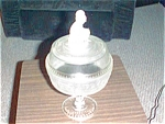 Eapg Westward Ho Covered Compote