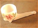 Souvenir Opaline Glass Pipe