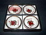 Ash Tray Set Of 4 , 40th Anniversary