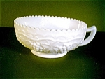 Milk Glass Handled Nappy, Imperial