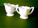 Imperial Glass Sugar And Creamer