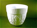 Milk Glass Planter/vase/pot/ftd
