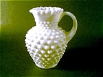 Fenton Hobnail Pitcher