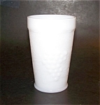 Milk Glass Flat Bottom Tumbler