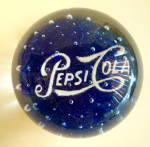 Pepsi Cola Paperweight