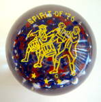 Patriotic Spirit Of '76 Paperweight