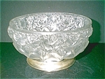 Crystal Satin Embossed Bowl