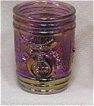 Amethyst Carnival Shriners Toothpick Holder