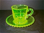 Candlewick Style Cup And Saucer