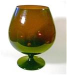 Amethyst Vase Brandy Snifter Style