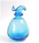 Blue Glass Vase, Decanter??