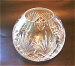 Large Pressed Ptn. Rose Bowl Vase