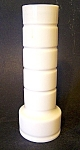Vase, Milk Glass,