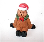 Christmas, Holiday Bear Figurine